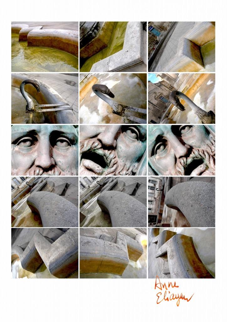 Fontaine de la place de la mairie pour Arles Gallery galerie de photos par Anne Eliayan