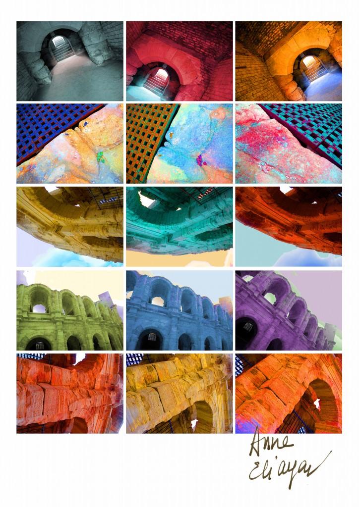 rochers des arènes Arles Gallery galerie de photos par Anne Eliayan