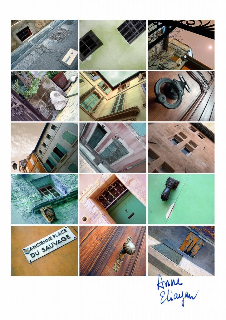 Journal au fil du Rhône Rue du Sauvage pour Arles Gallery galerie de Anne Eliayan