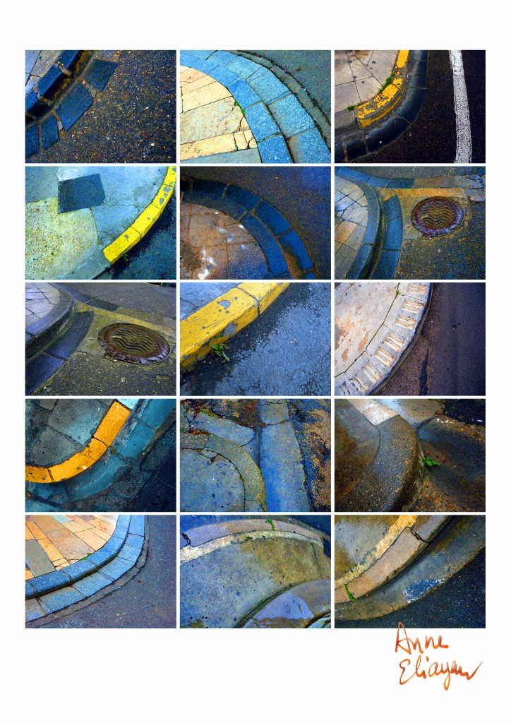 Journal au fil du Rhône trottoirs arlésiens pour Arles Gallery galerie de Anne Eliayan