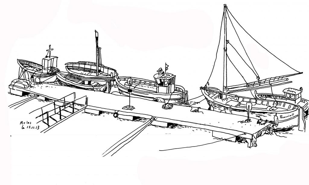 Quelques bateaux
