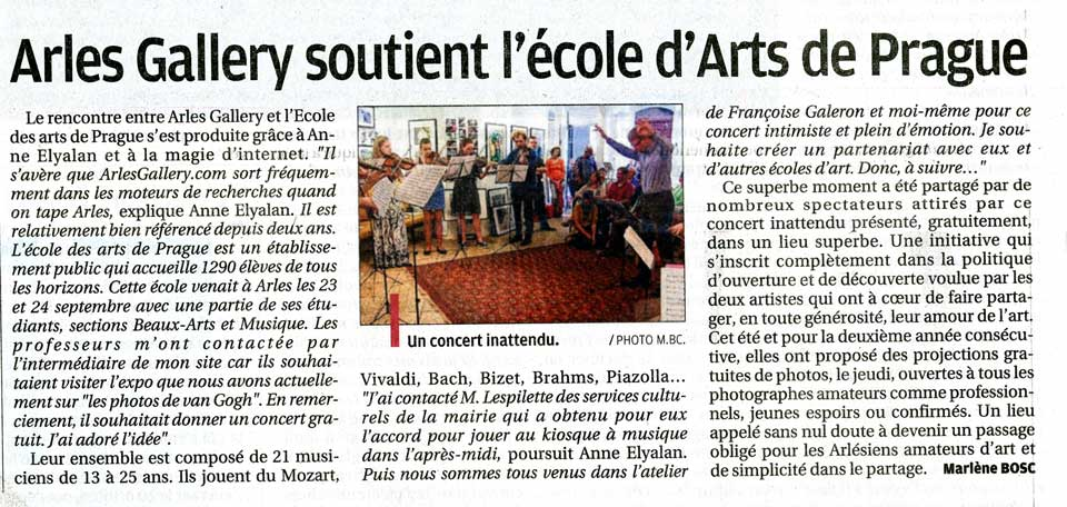 article-la-provence-arles-gallery-anne-eliayan