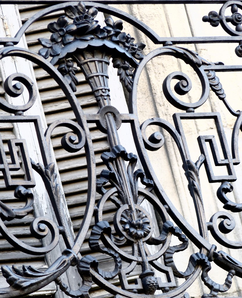 galerie de photo de balcons fer Arles © Sandra Affentranger