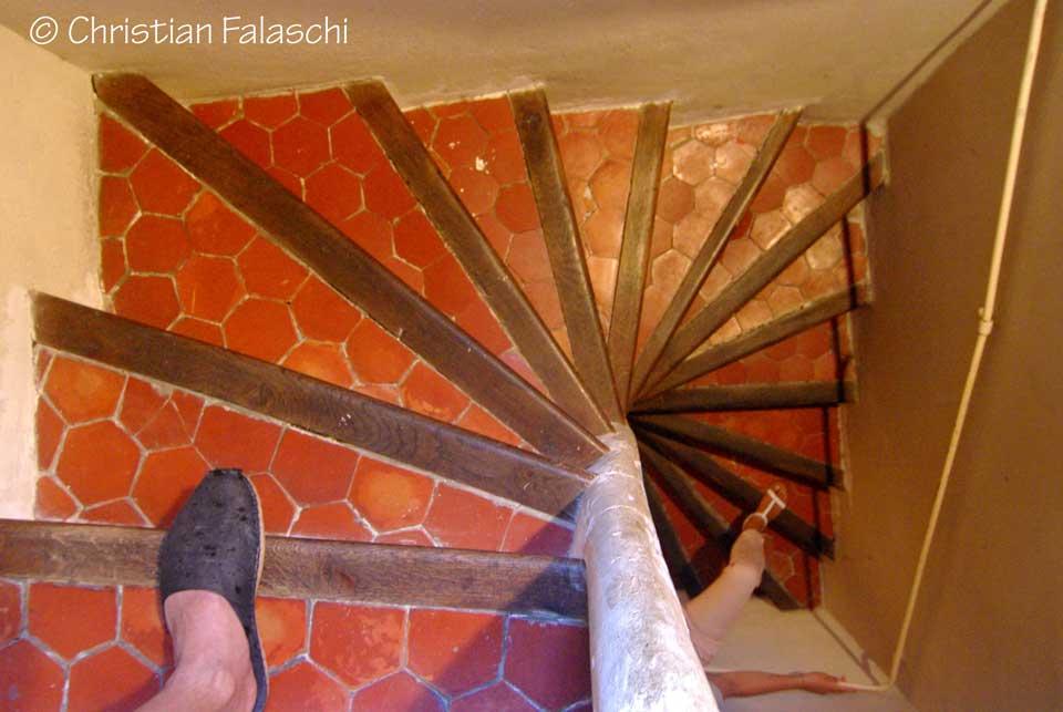 escalier-tomette