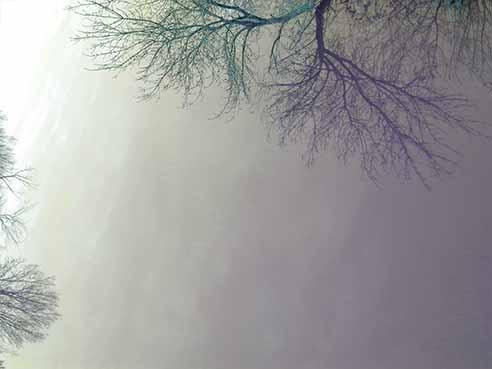 l'eau remplace le ciel le matin xs