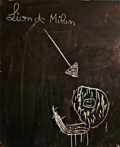 lion de milan