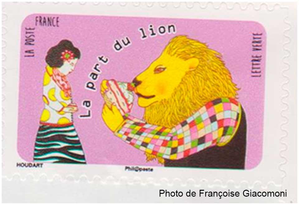 lion-postal-francoise-giacomoni