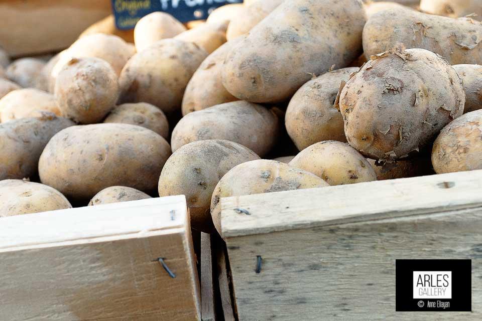pommes-de-terre marche arles ete