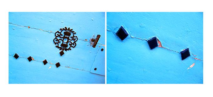 ARLES GALLERY porte bleue rue Girard le Bleu xs
