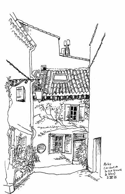Arles Girard le bleu 2 IV 15 xs