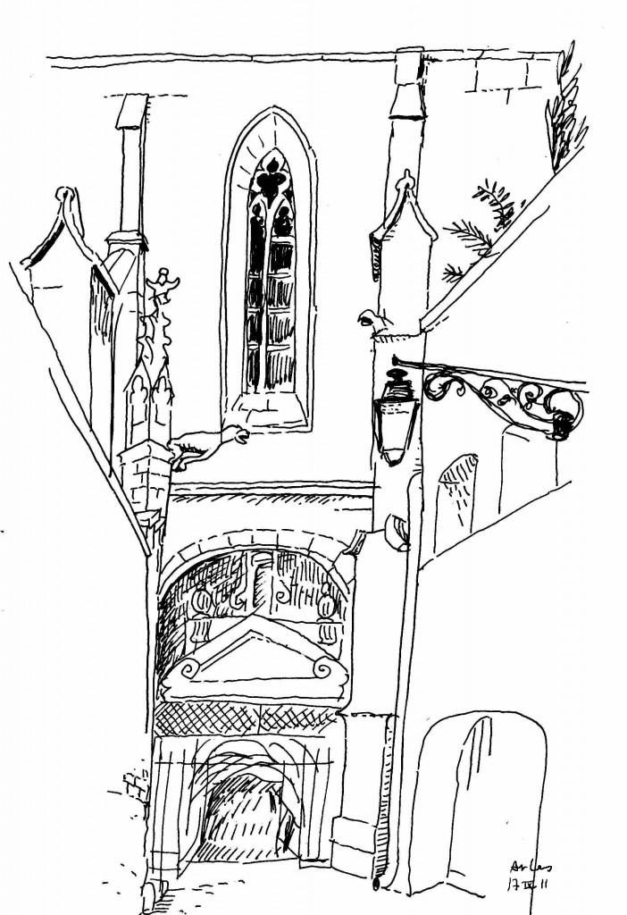 Arles impasse de l'abbé Grégoire