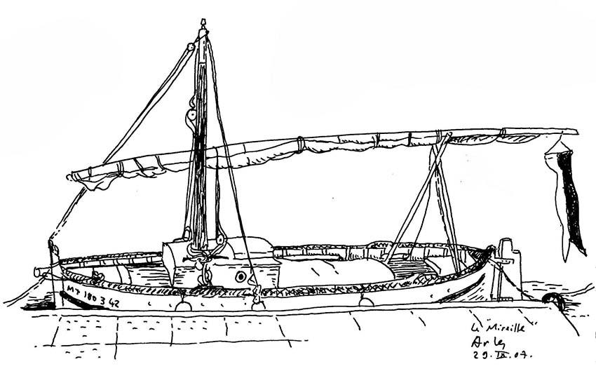 Arles un bateau xs