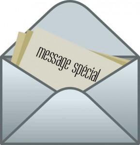 message-spécial