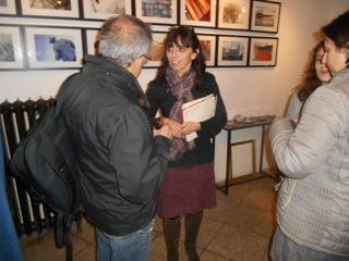 Inauguration de Arles Gallery Photographie de Torsten et Régine de Arles Bienvenue