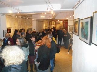 Inauguration de Arles Gallery Photographie de Torsten et Régine de Arles Bienvenue- Chambre d'hotes