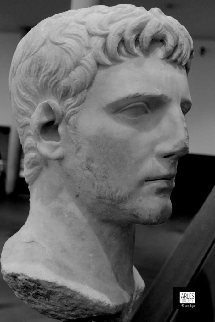 Le beau Gaïus Cesar petit-fils d'Auguste.