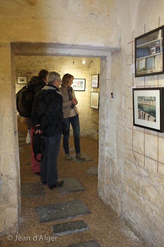 19 mars itinerare photo jean d'alger visite avec Françoise Galeron