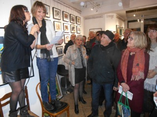 vernissage photo ©Regine Wroblewski atelier de photographie et arles gallery 5 mars 2016 (25)