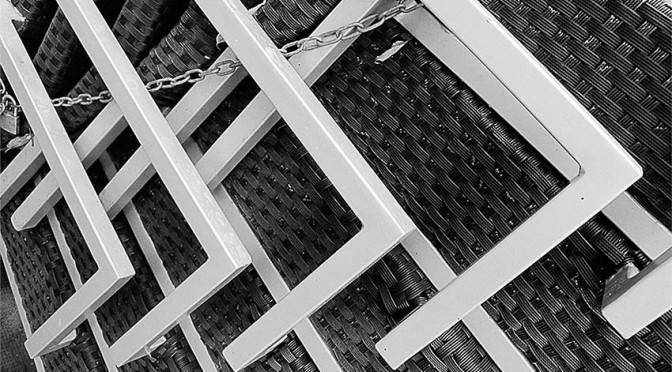 Fauteuils en terrasse